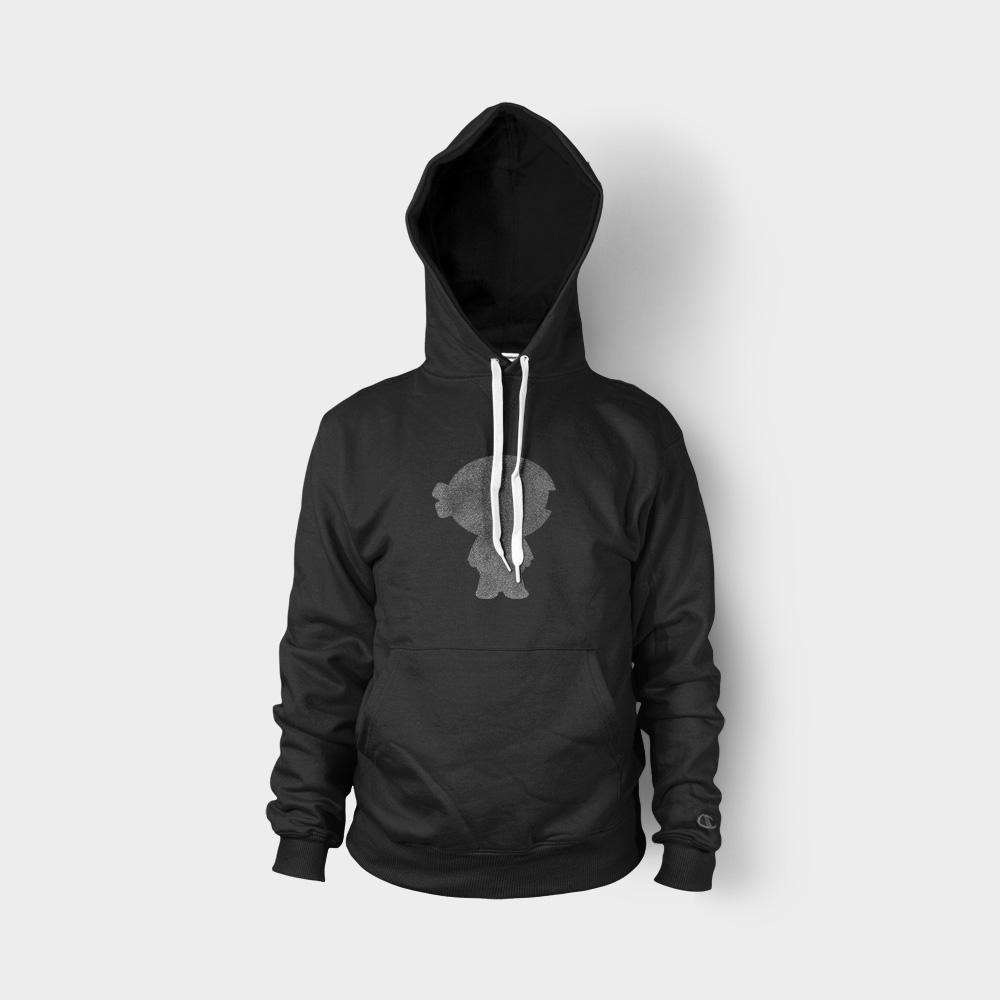 Black Hoodie Front